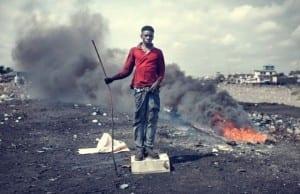 ガーナ、アグボグブロシー(Agbogbloshie)世界で最も電子機器が不法投棄される場所