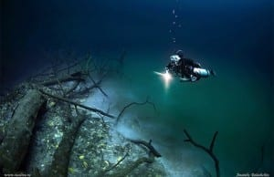 【絶景タチヨミ】セノーテ・アンヘリータ:水中を流れる神秘的すぎる川