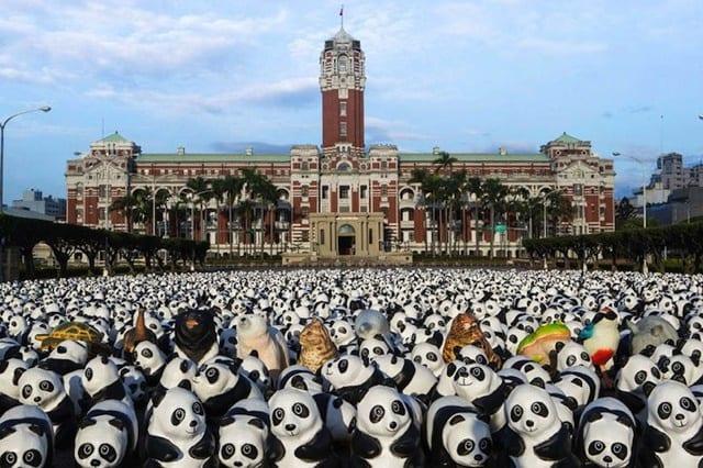 1600頭のパンダが伝える事実
