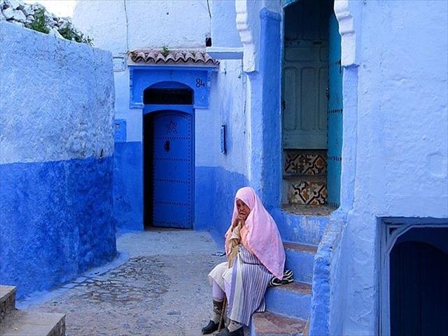 シャウエン(Chefchaouen,Chaouen);美しい青の町
