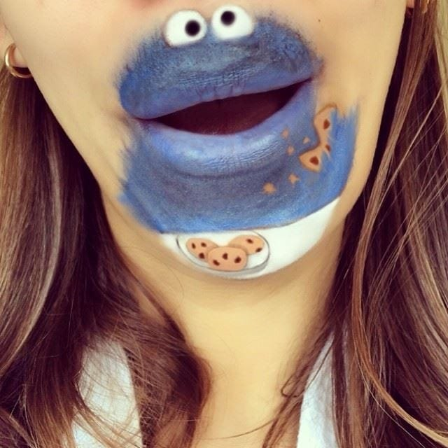 Artist Who Paints With Her Mouth