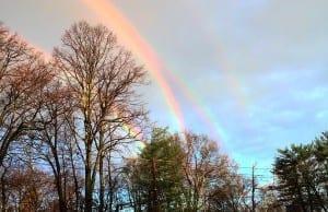 """【超貴重】NYで発見された""""4重の虹""""「実在してるの?」と世界で話題に!"""