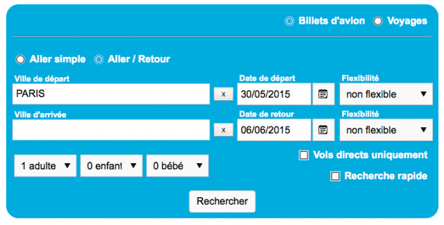 Classeco - Comparateur de prix de billets d_avion, dates flexibles-1