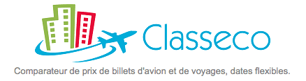 Classeco - Comparateur de prix de billets d_avion, dates flexibles