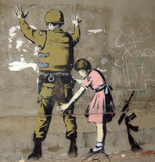 平和の願いを込めたストリートアート