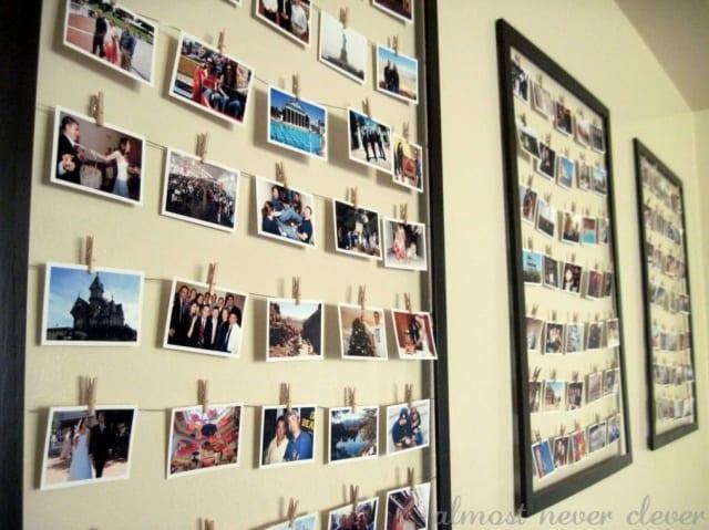 写真の壁への飾り方【ディスプレイ例】 Yoso Walk