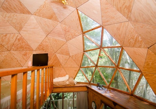 Mushroom Dome Cabin_ #1 on airbnb - Cabins for Rent in Aptos-2