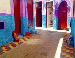 【GPSもゴミ同然の迷宮】カサブランカ旧市街の奥にひっそりと広がる「色と芸術の楽園」