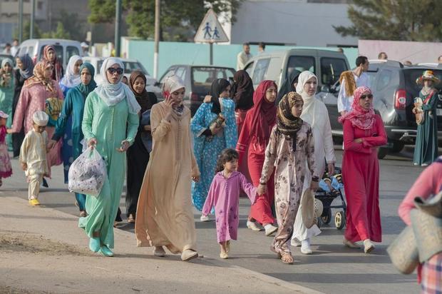モロッコ旅行の服装