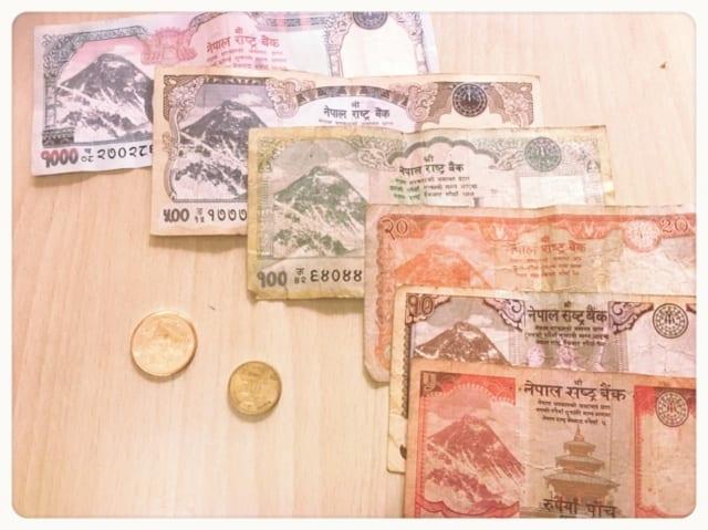9割が知らないネパール紙幣通貨の両替術(円+銀行が便利?)