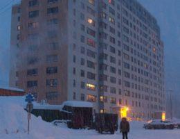 80%が共同生活!住民の大半が「1つの巨大な建物」で暮らす不思議な町ウィッティア